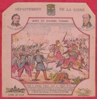 Protége Cahier Ancien Fin XIXéme Collection Serie INSTRUCTIVE  Dep De La LOIRE ( Prise De Sainte-Sévére ) - Book Covers