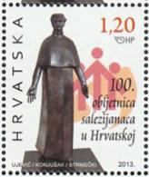 Croatia 2013, 100 Years Salesians 1v Mnh DON BOSCO - Croacia