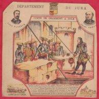 Protége Cahier Ancien Fin XIXéme Collection Serie INSTRUCTIVE  Dep Du JURA ( Comte De Grammont A Dole ) - Book Covers