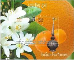 INDIA 2019 India Perfumes Miniature: ORANGE Fruit, Flower Smell, Odd, Unusual  (**) LIMITED SET,Inde ,Indien - India