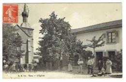 74 HAUTE SAVOIE VERS L'église Carte Rare - Autres Communes