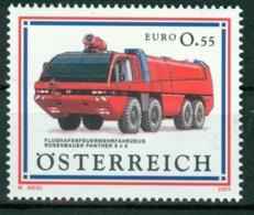 BM Austria 2003 MiNr 2435 MNH | Panther Airport Fire Appliance - 1945-.... 2nd Republic