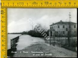 Rovigo Alluvione 1951 S. Marco Trancimazione Al Ponte Del Ceresolo - Rovigo