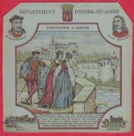 Protége Cahier Ancien Fin XIXéme Collection Serie INSTRUCTIVE  Dep D'INDRE-et-LOIRE ( Conjuration D'Amboise ) - Book Covers