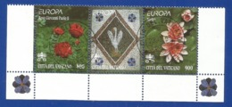 Vatikanstaat 1999  Mi.Nr. 1277 / 1278 , EUROPA CEPT  Natur- Und Nationalparks -  Gestempelt / Used / (o) - 1999