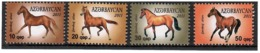 Azerbaijan 2011. Definitives. Garabakh Horses. 4v: 10, 20, 30, 50.   Michel # 898-01 - Azerbaiján