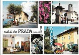 Saluti Da Prada Di Brentonico (Trento). Trattoria All'Alpina - Insegna Sali E Tabacchi In Basso A Destra. - Trento