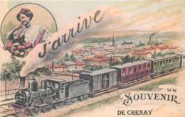 52 - Haute Marne - CRENAY - 521043 -  Fantaisie Moderne - CPM Au Format CPA 9 X 14 Cm - France