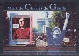 Guinee  2010 Charles De GAULLE  MNH - De Gaulle (Generaal)