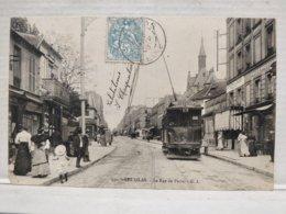 Les Lilas. Rue De Paris. Animée. Tram - Les Lilas