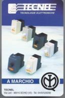 Calendarietto Tecnel Schio - Vicenza 1995 - Calendario - Calendari