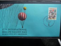 (B1) PAYS-BAS * NEDERLAND * FDC  37 TH INTERNATIONALE BALLOON RACE 1979 GRONINGEN. - FDC