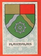 MTY-13 Genève Quartier De Plainpalais, Armoiries Ecusson Arms. Non Circulé. De Siebenthal - GE Genève