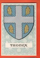 MTY-15 Genève Village De Thonex, Armoiries Ecusson Arms. Non Circulé. De Siebenthal - GE Genève