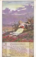 AK Heidenröslein - Liebespaar - Liedtext - Verein Für Das Deutschtum Im Ausland - Weilburg 1912 (44244) - Muziek En Musicus