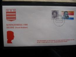 (B1) PAYS-BAS * NEDERLAND * FDC  KONINGINNEDAG 1986 DEURNE 1986. - FDC