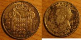 Monaco - 5 Francs 1966 - Mónaco