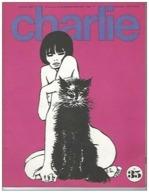 Charlie N°35 Paulette Par Wolinski - Peanuts - Feiffer - La Gazette De La Bande Dessinée - Chez Les Esthetes De 1971 - Magazines Et Périodiques