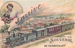 52 - Haute Marne - CHAMOUILLEY - 521219 -  Fantaisie Moderne - CPM Au Format CPA 9 X 14 Cm - France