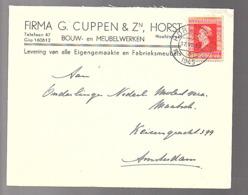 17.7.45 HORST G. Cuppen Meubelwerken  > Onderlinge Molestverzek. (oorlogsclaims)  (FJ-63) - 1891-1948 (Wilhelmine)