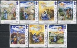 ALDERNEY 2012 The Christmas Story Horses Donkey Sheep Animals Fauna MNH - Pferde