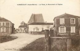52 - Haute Marne - HUMBECOURT - 522313 -  Place, Monument, église - France