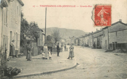 52 - Haute Marne - THONNANCE LES JOINVILLE - 523947 B - Grande Rue - France