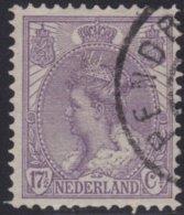 Nederland     .    NVPH     .    66    .     O   .    Gebruikt   .    /    .   Cancelled - 1891-1948 (Wilhelmine)