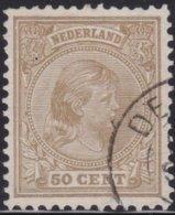 Nederland   .   NVPH     .   43    .     O   .    Gebruikt    .   /    .     Cancelled - 1891-1948 (Wilhelmine)
