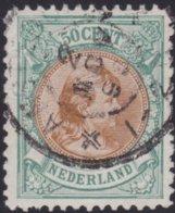 Nederland   .   NVPH     .   45    .     O   .    Gebruikt    .   /    .     Cancelled - 1891-1948 (Wilhelmine)