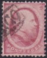 Nederland   .   NVPH     .    5    .     O   .    Gebruikt    .   /    .     Cancelled - Periode 1852-1890 (Willem III)