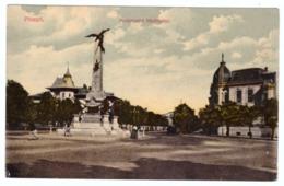 Romania Ploiesti Monumentul Vanatorilor 1911 - Rumänien