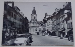 Switzerland Suisse Schweiz Morges La Grand Rue Old Cars Vielles Voitures 50's - VD Vaud