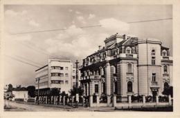 NIS (Serbien), Bankgebäude, Fotokarte Gel.1955, Sondermarke, Gute Erhaltung - Serbien