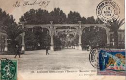 Marseille - Expo  Internationale D'electricité 1908 - Les Portiques - - Exposition D'Electricité Et Autres
