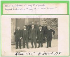 Xertigny Carte Photo Classe 1885 Noms Au Dos - Xertigny