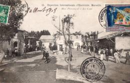 Marseille - Expo  Internationale D'electricité 1908 - Mas Provençal - La Cour - - Exposition D'Electricité Et Autres