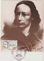 CARTE  MAXIMUM  FRANCE  N° Yvert  2408 (Louise MICHEL)  Obl Sp Ill Musée Du Grand Orient De Fr (Ed Combier 3884) - Cartes-Maximum