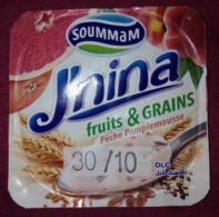 "Opercule Cover Yaourt Yogurt "" J'NINA ""  D'Algérie FRUITS & GRAINES- Opercules De Lait Opercule - Milk Tops (Milk Lids)"