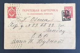 RUSSIE - Entier Postal - 1919 - Russian Cover Sent During The Revolution - 1917-1923 Republik & Sowjetunion