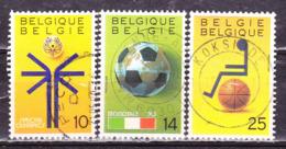Belgio 1990 Sport -Serie Completa Usata - Belgio