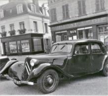 Rare Négatif 6 X 6 Cm Voiture Traction Avant Citroën Années 50-60 - Automobiles