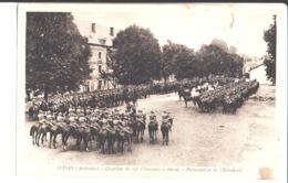Sedan. Quartier Du 12 ème Chasseurs à Cheval. Présentation De L'Etendard. De Alfred à Jean. 1936. - Sedan