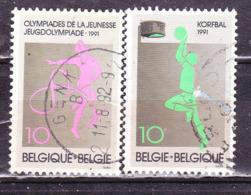 Belgio 1991 Sport -Serie Completa Usata - Belgio