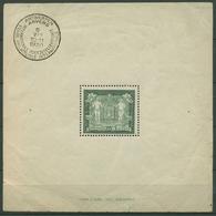 Belgien 1930 Philatel. Ausstellung Antwerpen Block 1 Gefalzt (C91596) - Blocks & Sheetlets 1924-1960