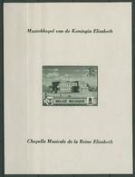 Belgien 1941 Musikstiftung Von Königin Elisabeth Block 13 Postfrisch (C91584) - Blocks & Sheetlets 1924-1960