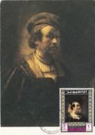 Carte Maximum Peinture Umm Al Qiwain Rembrandt - Umm Al-Qaiwain
