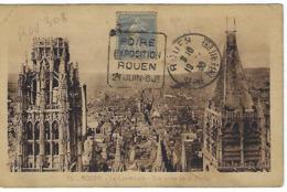 ROUEN DAGUIN 1930 DREYFUSS (ROU308) 1994 Cote 120F FOIRE EXPOSITION ROUEN 24 JUIN 6 Jt - Marcophilie (Lettres)