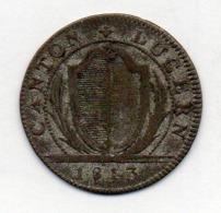 Suisse Canton LUZERN, 1 Batzen (10 Rappen), Billon, 1813, KM #107 - Schweiz
