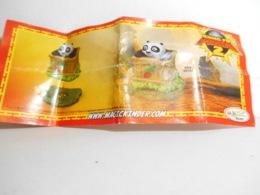 Kinder Kung Fu Panda Bpz Dc 184 - Instructions